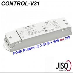 Contrôleur JISO CONTROL-V31 pour ruban LED RGB