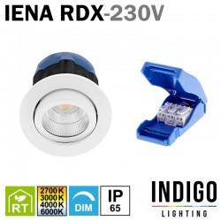 Spot LED encastré orientable INDIGO IENA RDX