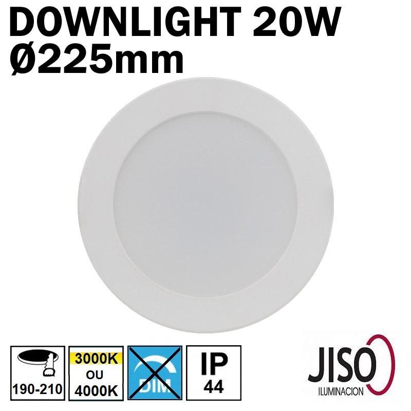 JISO 50220 - Downlight 20W