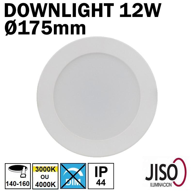 JISO 50212 - Downlight 12W diamètre 175mm