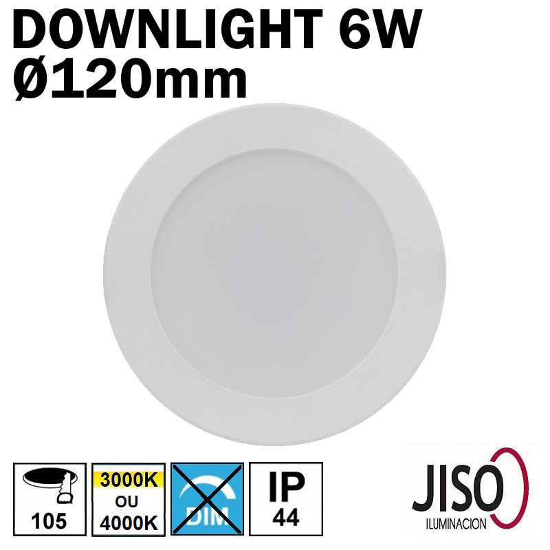 Luminaire encastré plat LED 6W - JISO 51616