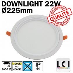 Downlight LED LCI 22W