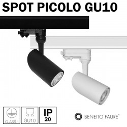 Spot Beneito Picolo GU10 pour rail