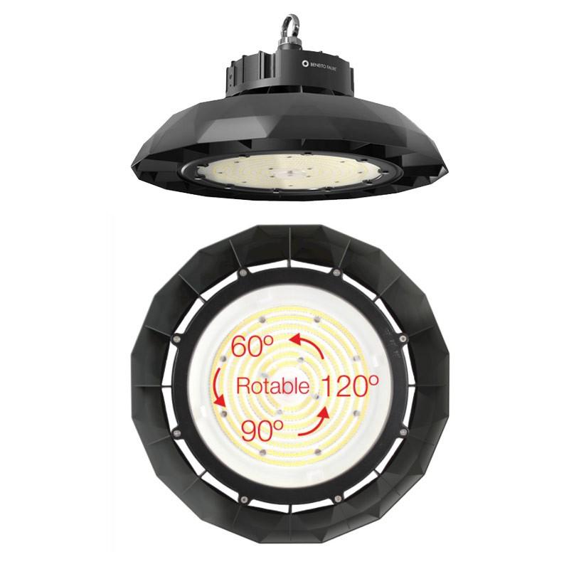 Faisceau de lumière réglable - BENEITO ufo lens