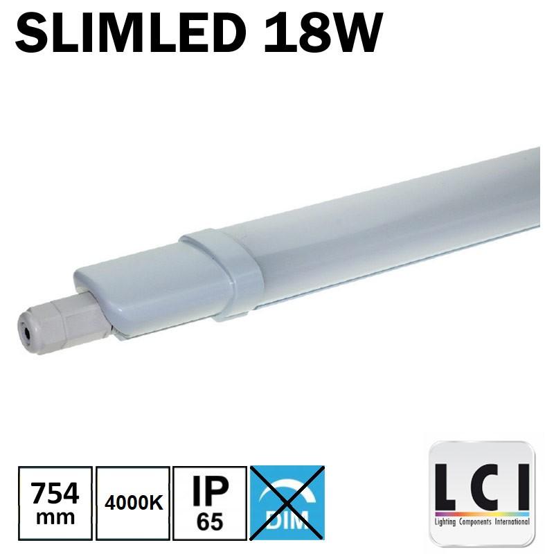 Luminaire LED étanche 0.60m - LCI 18W