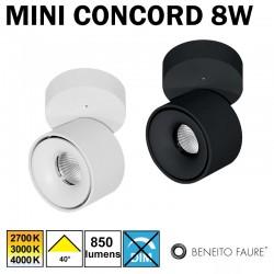 Plafonnier ou applique BENEITO MINI CONCORD 8W