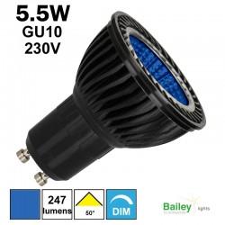 Ampoule bleue GU10 - Spot de couleur LED