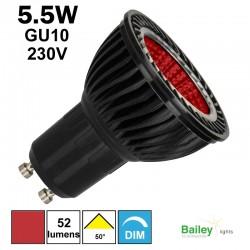 Ampoule rouge GU10 - Spot de couleur LED