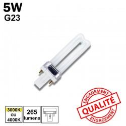 5W G23 - Ampoule fluo-compacte