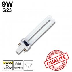 9W G23 - Ampoule fluo-compacte