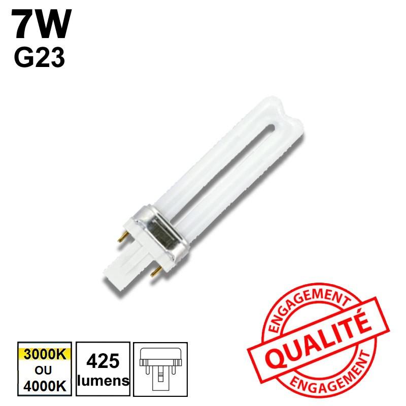 7W G3 - ampoule fluocompacte