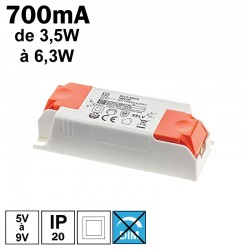 LCI 1600113 - 700mA de 3,5 à 6,3W