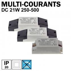 LCI 1713021 - Alimentation LED multi-courants de 250mA à 500mA