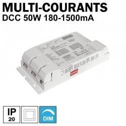 LCI 1770085 - Alimentation LED multi-courants de 180mA à 1500mA