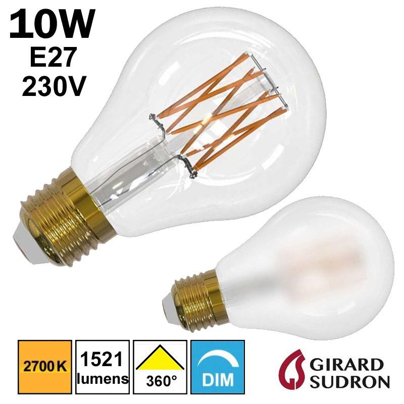 Ampoule A70 LED standard 10W GIRARD SUDRON