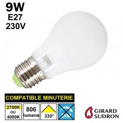 Ampoule standard LED 9W GIRARD SUDRON