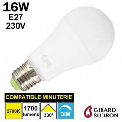 Ampoule standard LED 16W GIRARD SUDRON