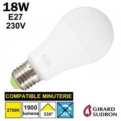 Ampoule standard LED 18W GIRARD SUDRON