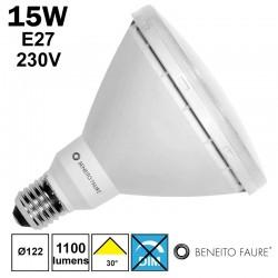 PAR38 LED BENEITO 15W E27 230V