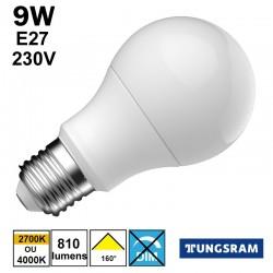 Ampoule LED économique TUNGSRAM 9W E27 230V