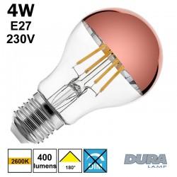 Ampoule calotte cuivre - DURALAMP LFA6004CU