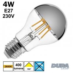 Ampoule calotte argentée - DURALAMP LFA6004CU