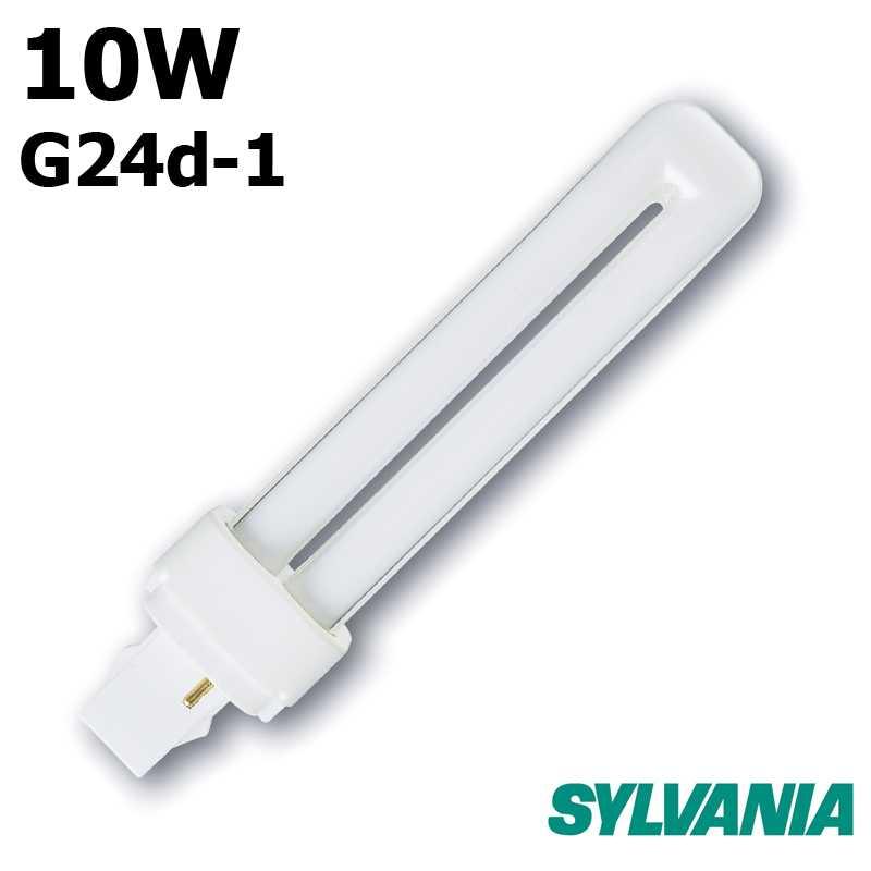 SYLVANIA LYNX-D 10W G24-d1