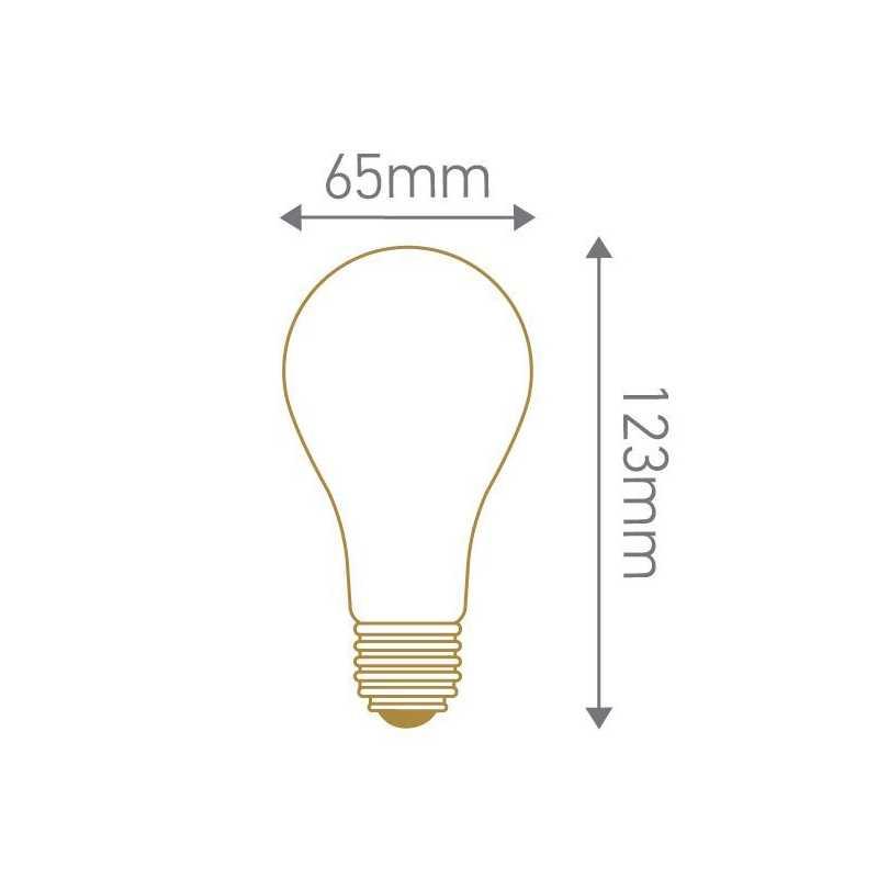 Lampe LED standard gradable 12W GIRARD SUDRON