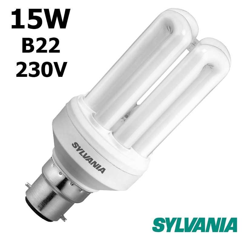 SYLVANIA FAST-START 15W B22