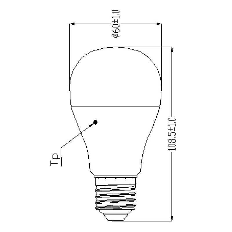 Lampe LED standard 9W SYLVANIA
