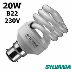SYLVANIA SPIRALE 20W B22