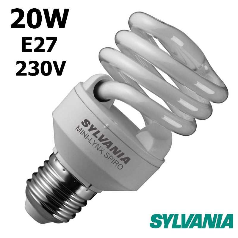 SYLVANIA SPIRALE 20W E27