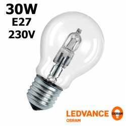 Ampoule eco-halogène 30W E27 230V RADIUM OSRAM