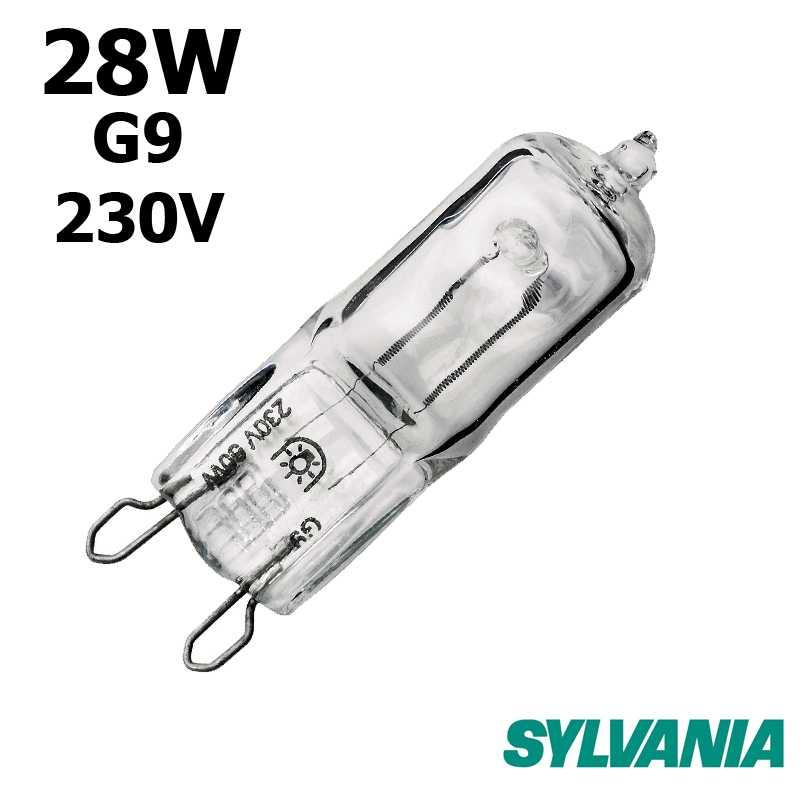 Ampoule eco-halogène 28W G9 230V