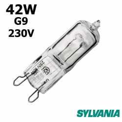 Ampoule eco-halogène 42W G9 230V