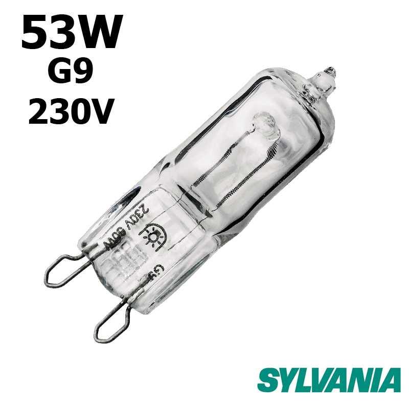 Ampoule eco-halogène 53W G9 230V