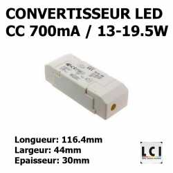 CONVERTISSEUR LED 20W 700mA