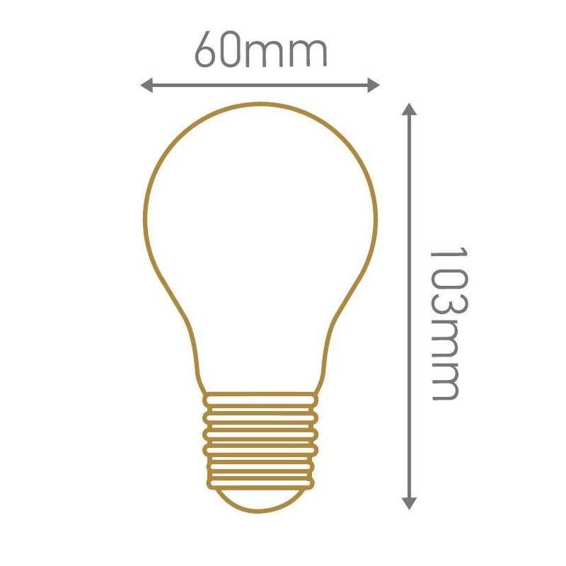 Lampe FILAMENT LED standard 8W GIRARD SUDRON