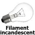 Ampoule standard incandescente