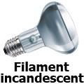Ampoule réflecteur incandescente