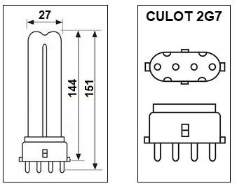 Lampe 2G79W