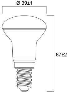 Spot LED DURALAMP R39