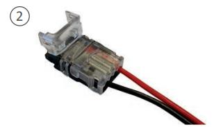 Connecteur de branchement pour ruban LED