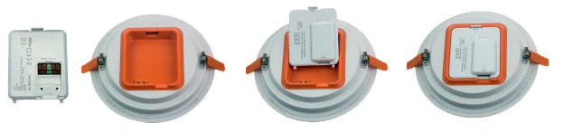Driver clipsable downlight LCI DL LED