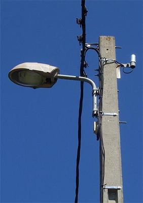 Luminaire eclairage public