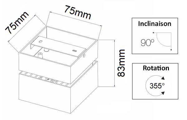 Dimensions BENEITO Mini Rubyc