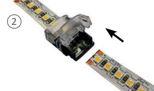 Préparation du ruban LED