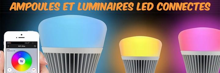 Ampoules et luminaires connectés