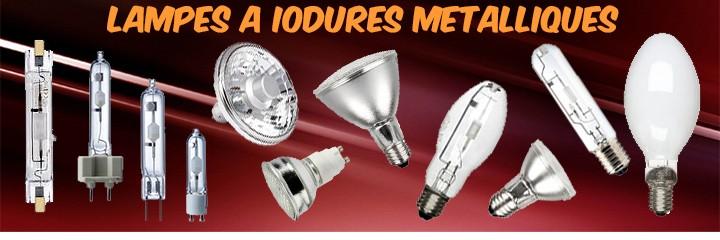 Lampes iodure métallique SYLVANIA PHILIPS OSRAM