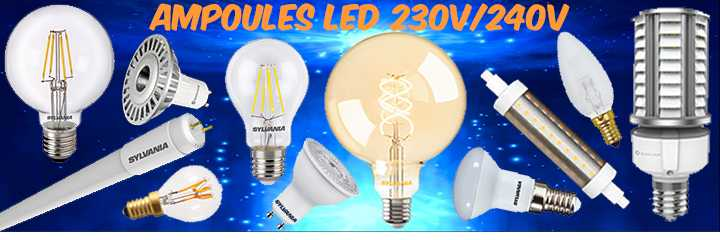 Ampoules LED et lampes filament LED